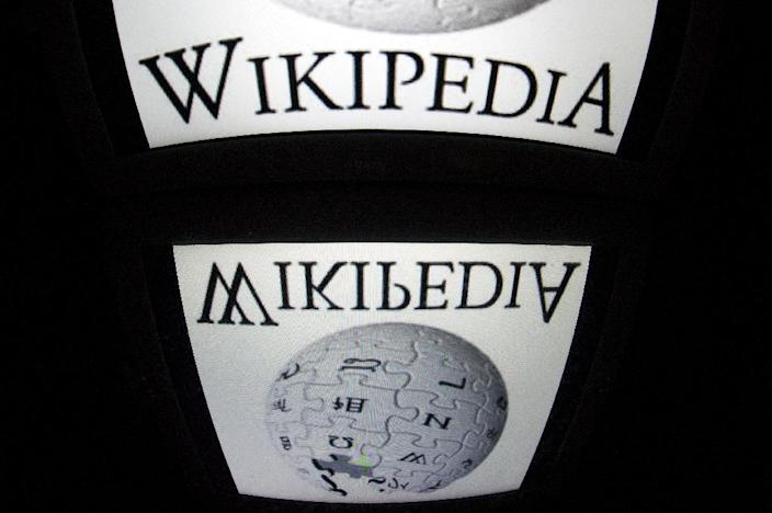 According to a report by OONI, China started blocking all language editions of Wikipedia in April (AFP Photo/LIONEL BONAVENTURE)