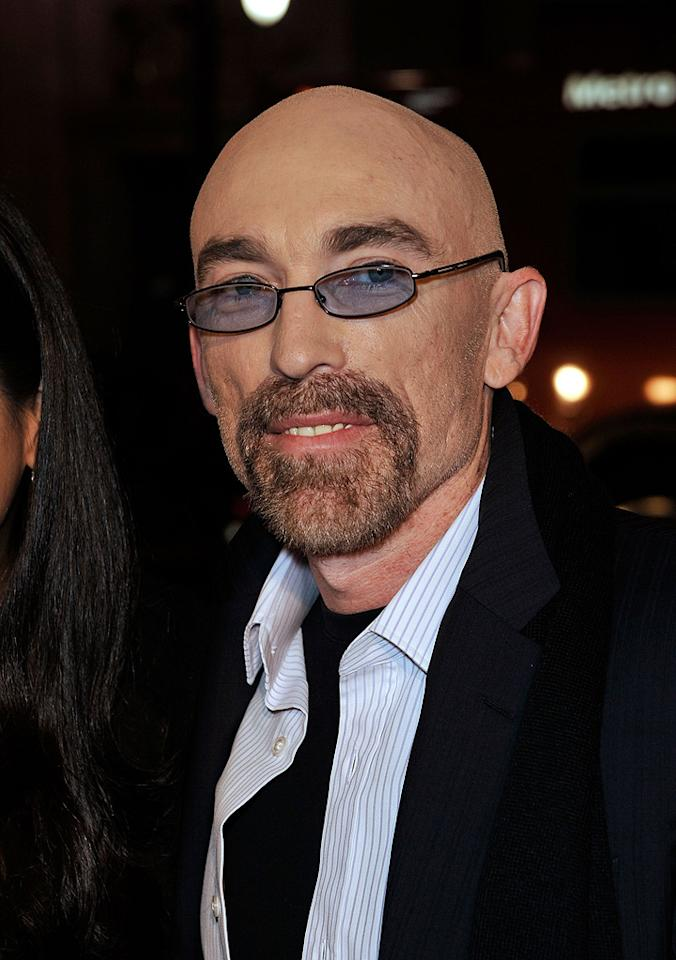 "<a href=""http://movies.yahoo.com/movie/contributor/1800031219"">Jackie Earle Haley</a> at the Los Angeles premiere of <a href=""http://movies.yahoo.com/movie/1808406490/info"">Watchmen</a> - 03/02/2009"