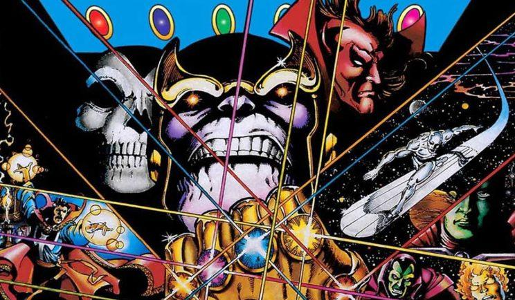 WIll Thanos assemble the Infinity Gauntlet? - Credit: Marvel