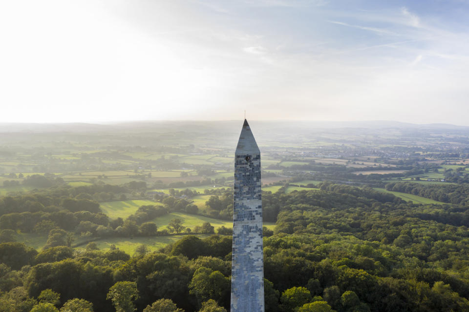 The Wellington Monument has been standing for over 150 years but was in a poor state of repair (John Miller/National Trust/PA)