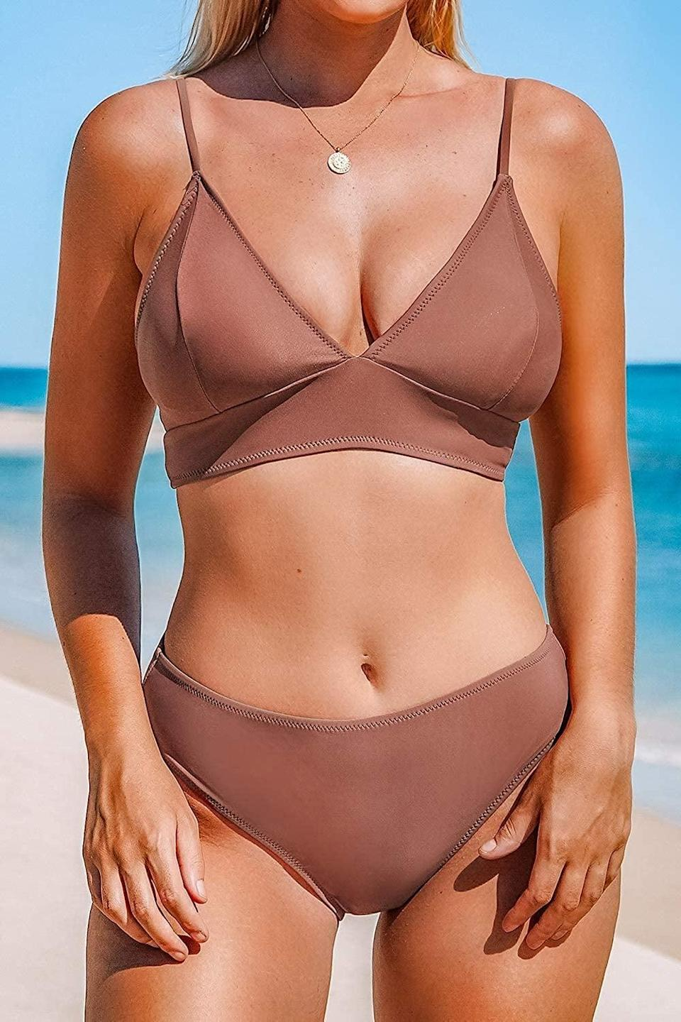 <p>This <span>Cupshe Two-Piece Bathing Suit</span> ($30 - $33) is ready for your next beach day.</p>