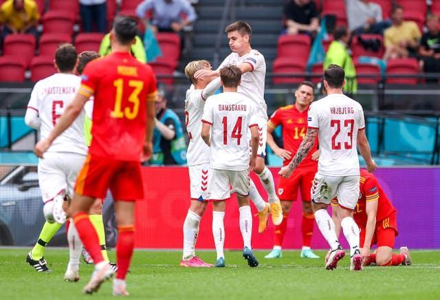 Denmark handed Wales a heavy defeat