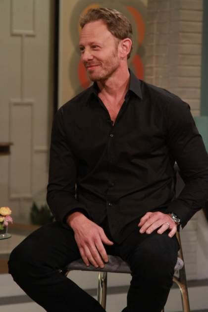 Ian Ziering stops by Access Hollywood Live on July 19, 2013 -- Access Hollywood