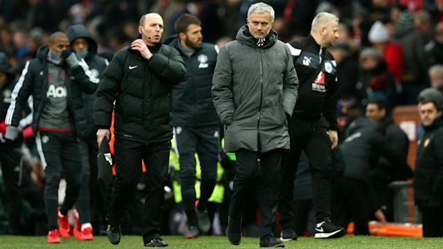Manchester United beat Huddersfield Town, but Jose Mourinho does not think the home fans made much of a difference.