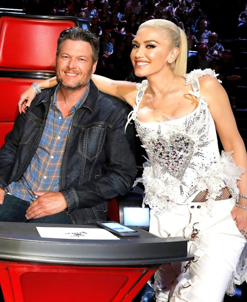 Blake Shelton and Gwen Stefani | Trae Patton/NBC/NBCU Photo Bank/Getty