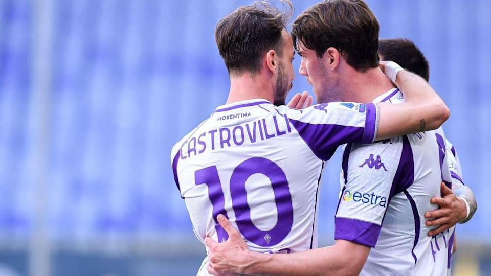 Castrovilli e Vlahovic | Getty Images/Getty Images