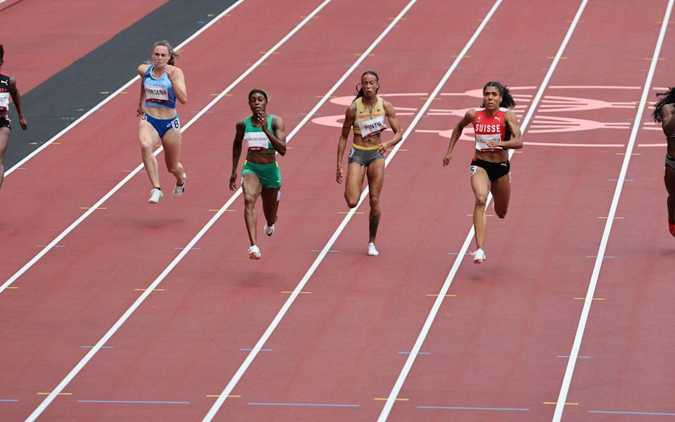 Elaine Thompson-Herah storms to victory - AFP