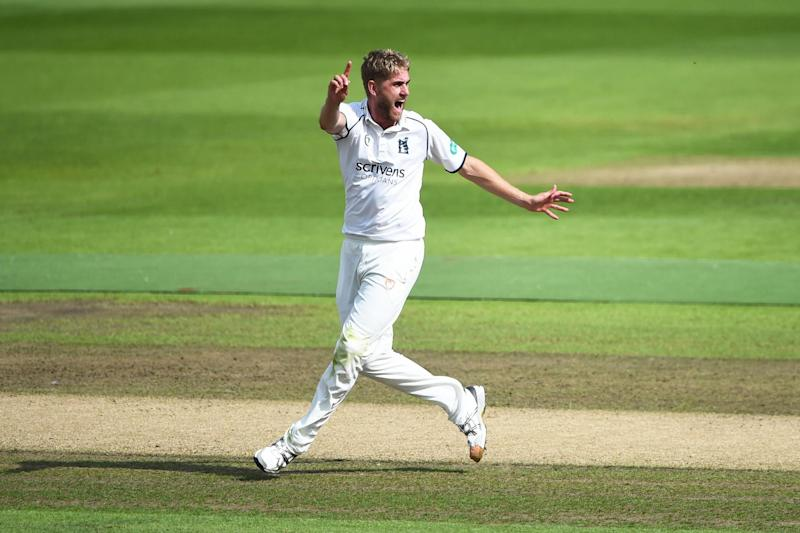 Warwickshire seamer Olly Stone: Getty Images