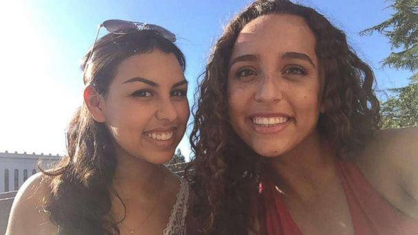 PHOTO: College roommates Nissma Bencheikh (left) and Roaya Jannatipour (right) found out that their mothers were best friends and that they knew each other as babies. (Roaya Jannatipour)