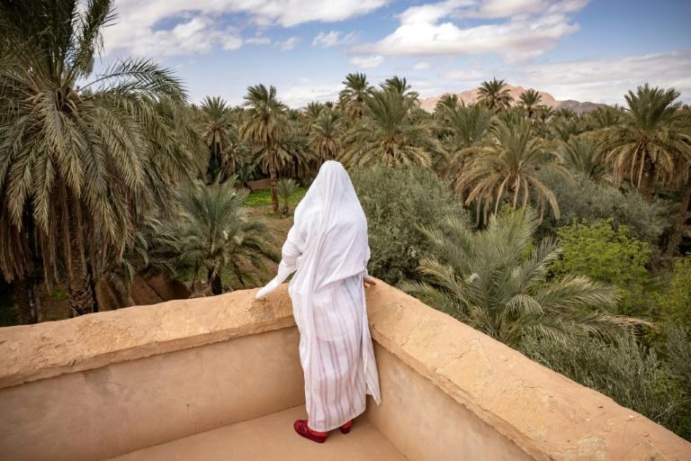 """Residents of Figuig say they feel """"wronged"""" by the loss of access to thousands of date palms across the border"""