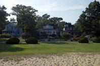 """<p>The historic seaside town of <a href=""""https://www.highlandbeachmd.org/"""" rel=""""nofollow noopener"""" target=""""_blank"""" data-ylk=""""slk:Highland Beach"""" class=""""link rapid-noclick-resp"""">Highland Beach</a> initially became a haven for educated and prominent Blacks in the late 19th century due to the investment of Major Charles Douglass (son of Frederick) and his wife after being turned away from a local beach resort for the color of their skin. The Douglass family purchased just over 26 acres of land on the Chesapeake Bay that eventually became Highland Beach. The land was incorporated in 1922, becoming the first African American municipality in the state. The town became a vacation spot for names like Booker T. Washington, Paul Lawrence Dunbar, Langston Hughes, among many other major names in Black history. It also houses the <a href=""""https://www.highlandbeachmd.org/index.asp?SEC=18C159E9-B3B4-4963-9C22-37992CB67685&Type=B_BASIC"""" rel=""""nofollow noopener"""" target=""""_blank"""" data-ylk=""""slk:Fredrick Douglass Museum and Cultural Center"""" class=""""link rapid-noclick-resp"""">Fredrick Douglass Museum and Cultural Center</a>.</p>"""