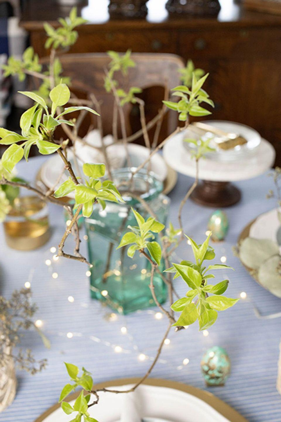 """<p>Don't downsize your party just because it's virtual. It's more important than ever to treat yourself and those you love, so get out that wedding china. Dress up the table with vases of flowers and fairy lights. Use the """"good"""" tablecloth. And the bonus? Treating or rewarding oneself can create <a href=""""https://www.sciencedirect.com/science/article/abs/pii/S1364661307002458"""" rel=""""nofollow noopener"""" target=""""_blank"""" data-ylk=""""slk:positive feelings in the brain"""" class=""""link rapid-noclick-resp"""">positive feelings in the brain</a>.</p><p><a class=""""link rapid-noclick-resp"""" href=""""https://www.creeklinehouse.com/making-celebrations-special-during-social-distancing/"""" rel=""""nofollow noopener"""" target=""""_blank"""" data-ylk=""""slk:GET THE TIPS"""">GET THE TIPS</a></p><p><a class=""""link rapid-noclick-resp"""" href=""""https://www.amazon.com/ANJAYLIA-Festival-Decorations-Crafting-Operated/dp/B01EWBC55A/?tag=syn-yahoo-20&ascsubtag=%5Bartid%7C10072.g.32466287%5Bsrc%7Cyahoo-us"""" rel=""""nofollow noopener"""" target=""""_blank"""" data-ylk=""""slk:SHOP FAIRY LIGHTS"""">SHOP FAIRY LIGHTS</a></p>"""