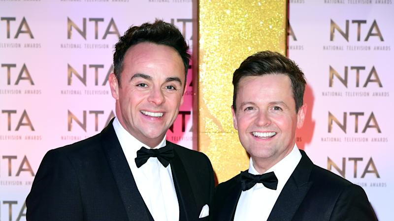 Ant and Dec pay tribute to Britain's Got Talent warm-up star Ian Royce