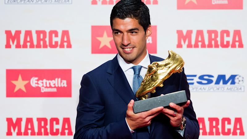 LUIS SUAREZ GOLDEN FOOT