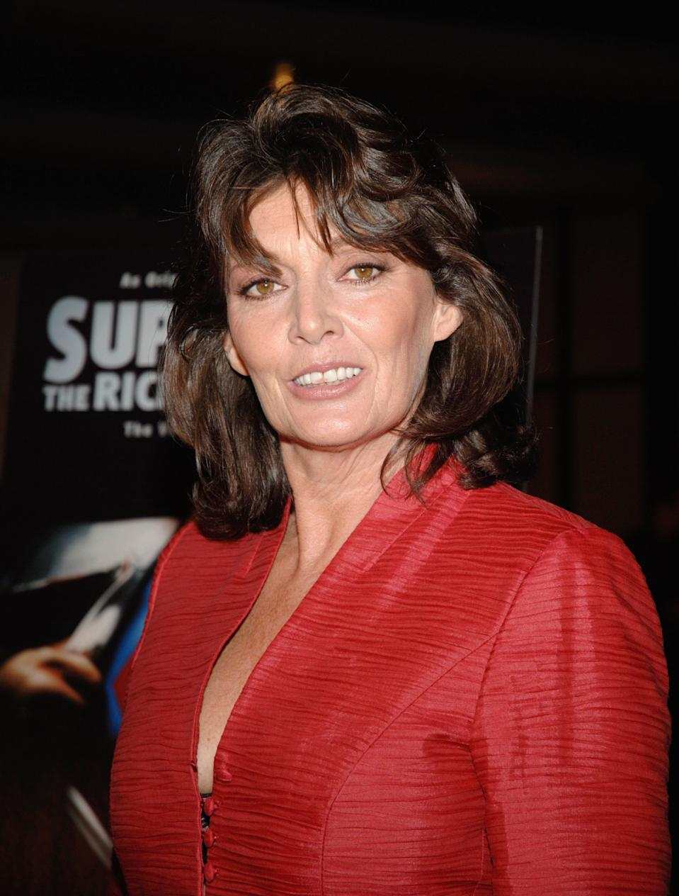 "WEST HOLLYWOOD, CA - NOVEMBER 2:  Sarah Douglas attends the Red Carpet Screening of ""Superman II: The Richard Donner Cut"" at the Directors Guild Of America on November 2, 2006 in West Hollywood, California. (Photo by John M. Heller/Getty Images)"