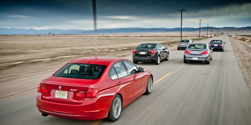 The 2012 BMW 328i Takes on the Competition from Audi