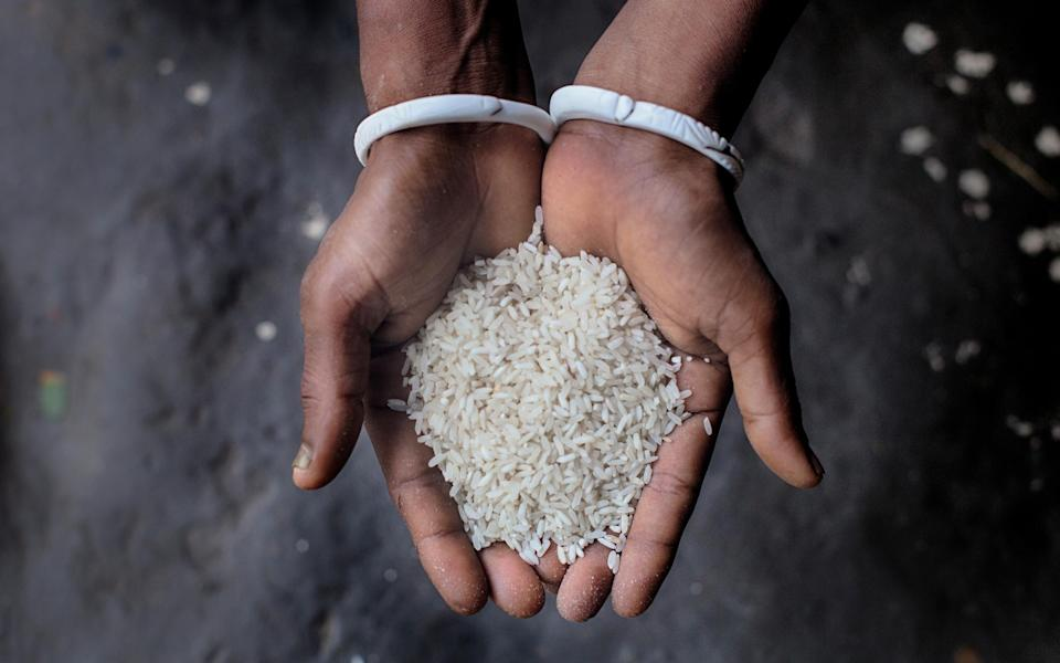 Basmati rice is a key export for both India and Pakistan - Fabeha Monir/Oxfam