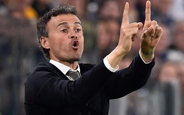 <span>Barcelona coach Luis Enrique says his side need to score five goals to progress</span> <span>Credit: Reuters </span>