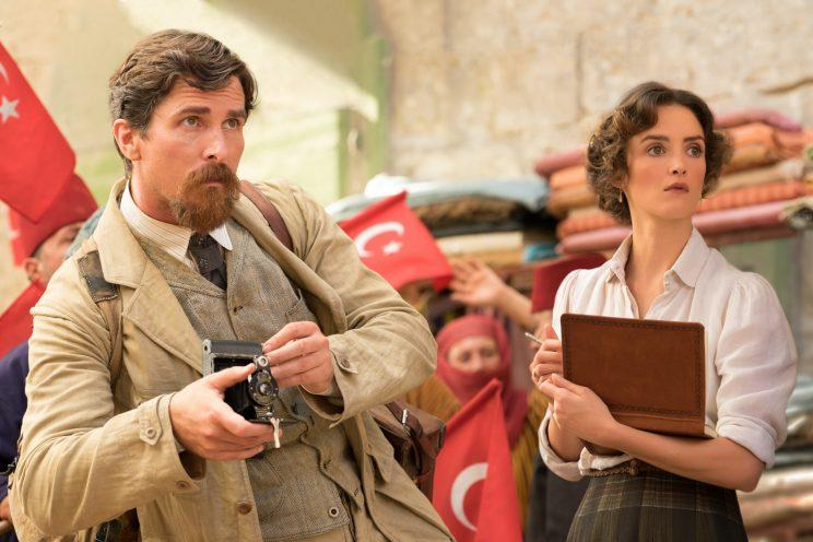 Christian Bale and Charlotte Le Bon in 'The Promise' (Photo: Open Road Films)