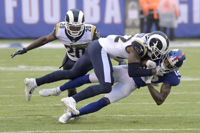 Trumaine Johnson is reportedly leaving the Rams to sign with the New York Jets. (AP)