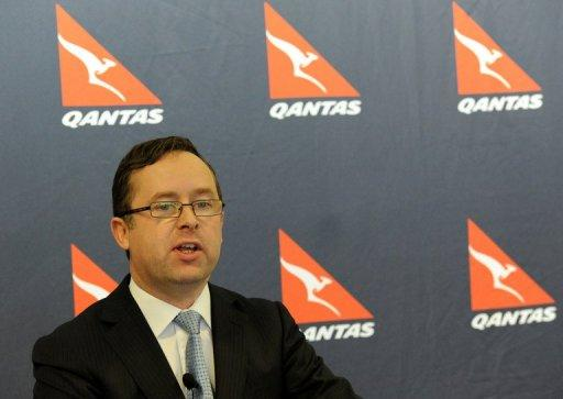 Alan Joyce says, based on the value of Qantas' net tangible assets, its share price should be Aus$2.40