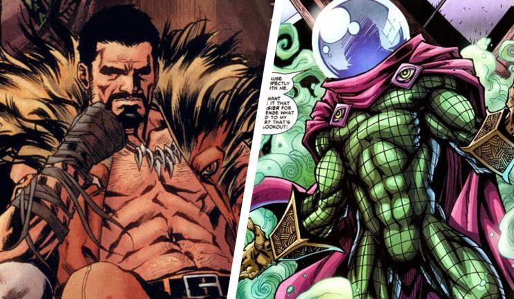 Kraven and Mysterio will apparently get their own films - Credit: Marvel