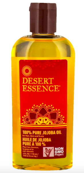 Desert Essence, 100% Pure Jojoba Oil, For Hair, Skin and Scalp, (118 ml), SG$15.76. PHOTO: iHerb