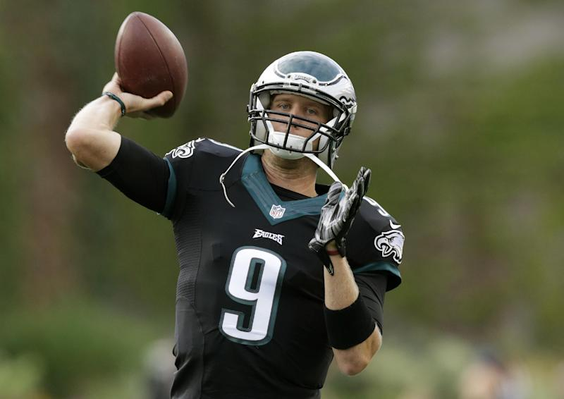 Foles has the Eagles favored in weak NFC East
