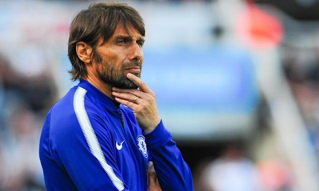 Antonio Conte suffers during Chelsea's 3-0 defeat at Newcastle last Sunday which looks likely to have been his last Premier League game in charge of the club.