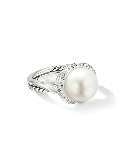 "<br><br><strong>David Yurman</strong> Continuance Pearl Ring with Diamonds, $, available at <a href=""https://go.skimresources.com/?id=30283X879131&url=https%3A%2F%2Fwww.saksfifthavenue.com%2Fproduct%2Fdavid-yurman-continuance-pearl-ring-with-diamonds-0400010042674.html%3Fdwvar_0400010042674_color%3DSILVER"" rel=""nofollow noopener"" target=""_blank"" data-ylk=""slk:Saks Fifth Avenue"" class=""link rapid-noclick-resp"">Saks Fifth Avenue</a>"