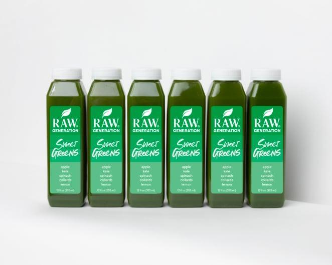 <p><span>Raw Generation Sweet Greens Juice</span> ($110, originally $220 for 18) is made with ingredients like spinach, kale, and collard juice, veggies that are naturally loaded with immune-supporting nutrients. The drinks are flash frozen, so they taste as fresh as possible when you're ready to enjoy them!<br></p>