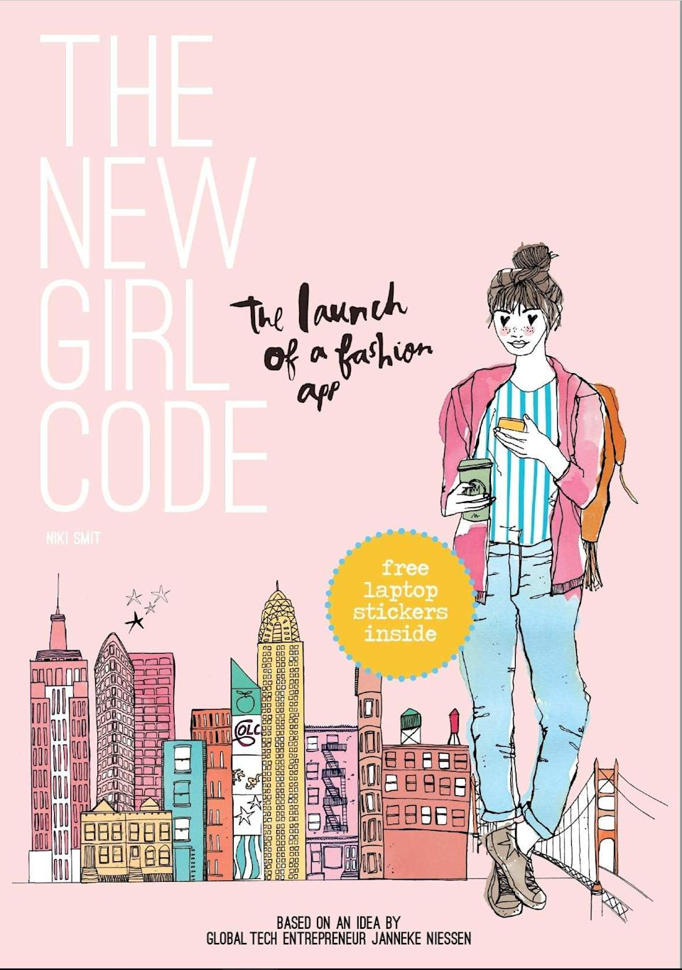 """<p><span>The New Girl Code</span> ($10) is the perfect book for young girls who love technology and want to break barriers in a once """"boys-only"""" area of technology.</p>"""