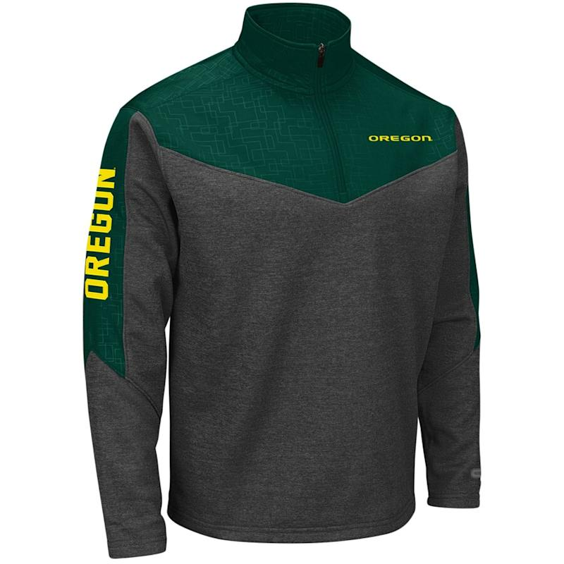 Oregon Ducks Colosseum Quarter-Zip Pullover Jacket