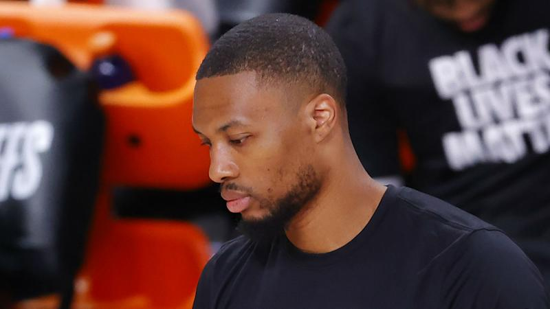 Lillard returning to Portland for assessment of knee injury