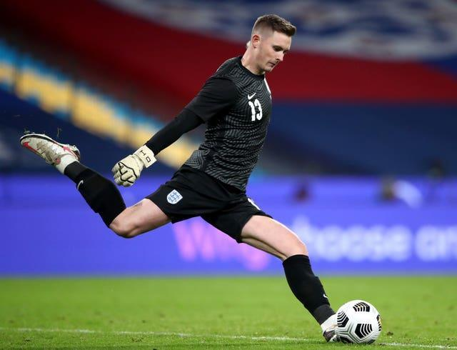 Dean Henderson will be looking to add to his one England cap during the current round of international fixtures.
