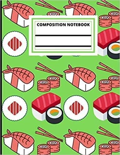 <p>They can jot down their favorite recipes and rolls in this <span>Sushi Composition Notebook</span> ($6).</p>