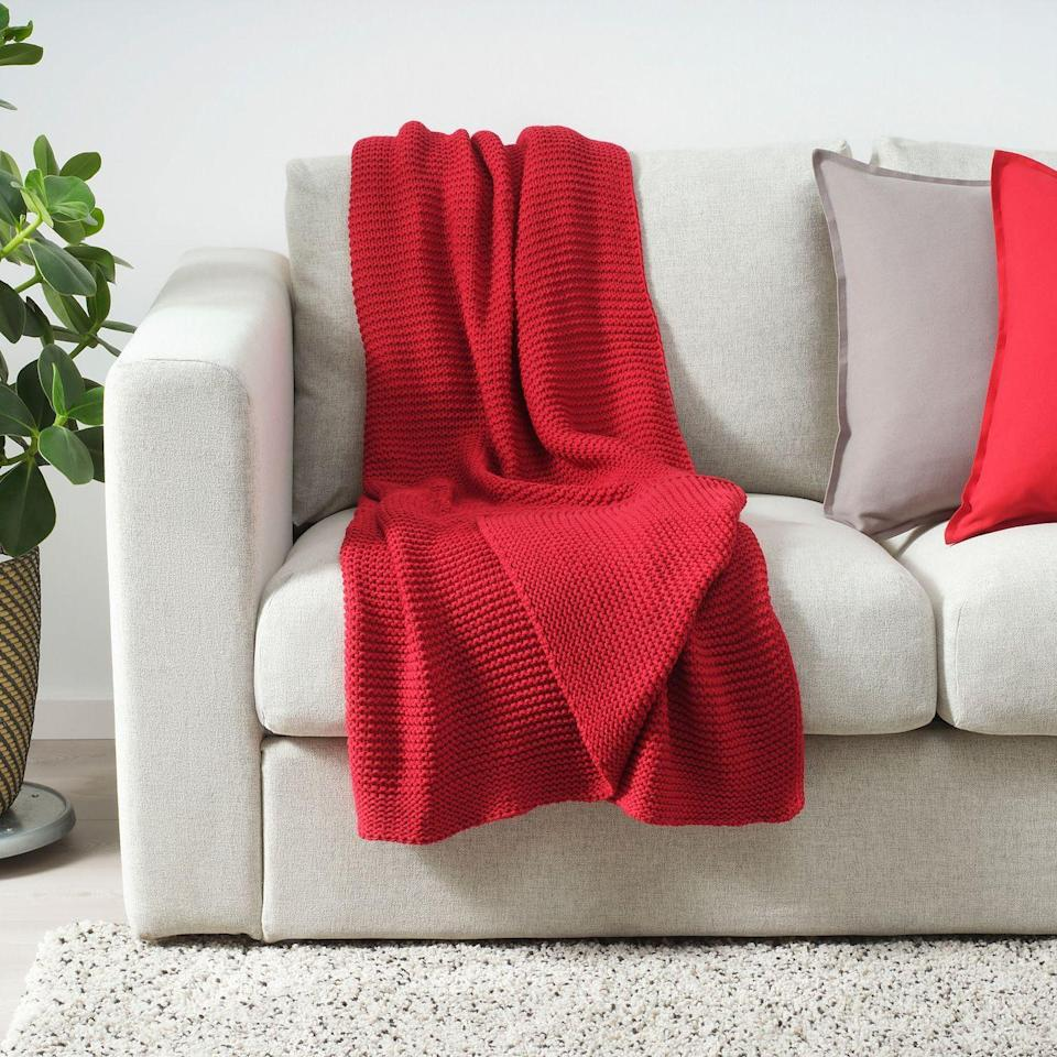 "<p><strong>IKEA</strong></p><p>ikea.com</p><p><a href=""https://go.redirectingat.com?id=74968X1596630&url=https%3A%2F%2Fwww.ikea.com%2Fus%2Fen%2Fp%2Fingabritta-throw-red-80452187%2F&sref=https%3A%2F%2Fwww.housebeautiful.com%2Fshopping%2Fbest-stores%2Fg35016602%2Fikea-lower-price-section-home-deals%2F"" rel=""nofollow noopener"" target=""_blank"" data-ylk=""slk:BUY NOW"" class=""link rapid-noclick-resp"">BUY NOW </a></p>"