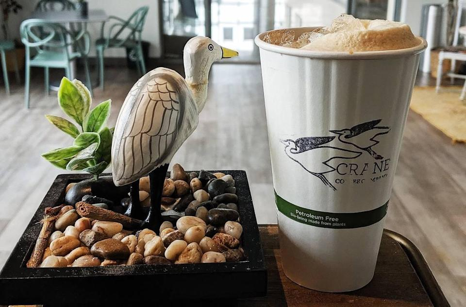Crane Coffee will be available at the Innovation Barn starting Oct. 1.
