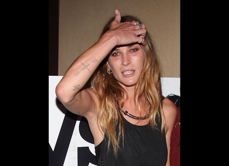 """Model Erin Wasson attends """"The Heimlich Maneuver"""" screening at Soho Grand Hotel in NYC on June 27, 2012 (Rob Kim/Getty photo)"""