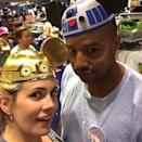 """<p>Aww! The <i>Clueless</i> actor called wife CaCee Cobb """"<a rel=""""nofollow noopener"""" href=""""https://www.instagram.com/p/4QdilGM5op/?taken-by=donald_aison&hl=en"""" target=""""_blank"""" data-ylk=""""slk:the C-3PO to my R2-D2,"""" class=""""link rapid-noclick-resp"""">the C-3PO to my R2-D2,</a>"""" when they visited Disneyland. (Photo: Donald Faison via Instagram) </p>"""