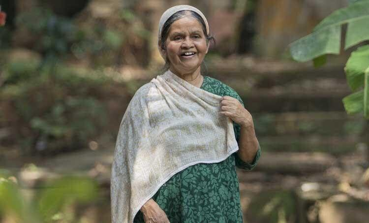 Savithri Sreedharan in 'Sudani from Nigeria' (Photo: Film still)