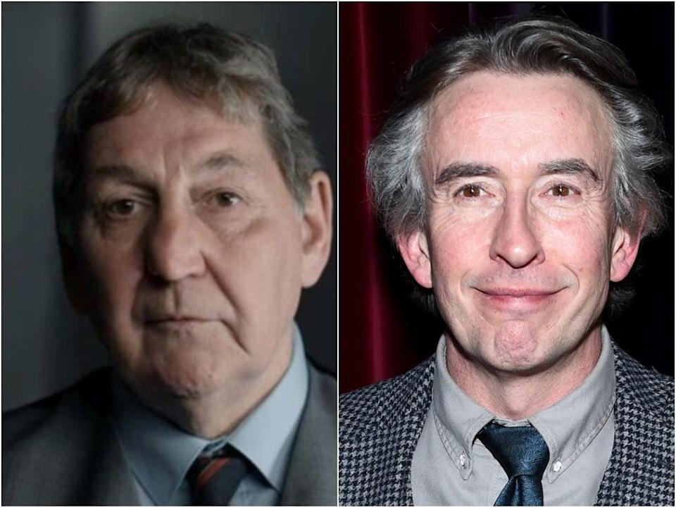 DCI Clive Driscoll is played by Steve Coogan in 'Stephen' (BBC/Getty Images)