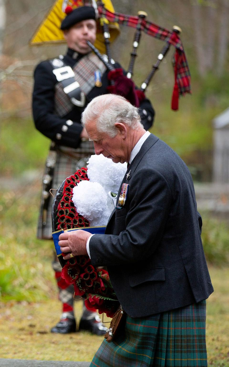 Prince Charles is known for his affection for Scotland - Pool/Reuters