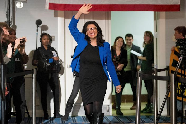 Rep. Rashida Tlaib (D-Mich.) became the first Palestinian American to be elected to Congress in 2018. (Photo: ASSOCIATED PRESS)