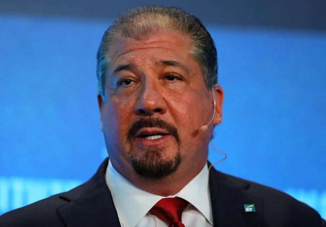 <p>No. 23 (tie): EY CEO Mark Weinberger<br>CEO approval rating: 91 per cent<br>(Reuters) </p>