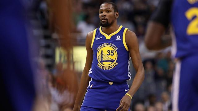 The Warriors' Kevin Durant will decline his player option for the 2018-19 season and become an unrestricted free agent this summer, reports ESPN's Chris Haynes.
