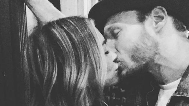 Hilary Duff Kisses New Boyfriend Jason Walsh in Sweet Pic