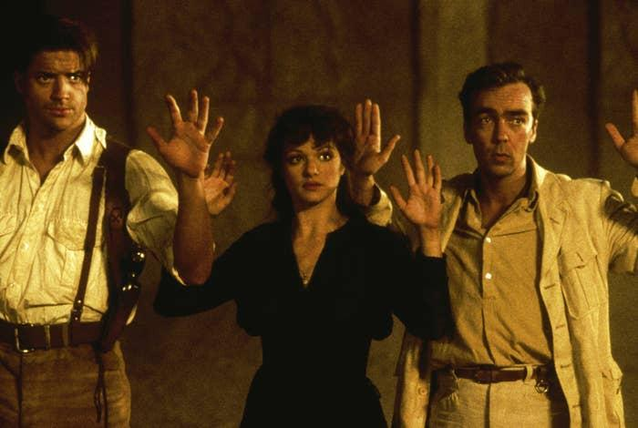 """<div><p>""""The first two focused on ancient Egyptian history and mythology, then number three suddenly took place in Asia? Huh?! The cherry on top of that shit cake was the absence of Rachel Weisz. Her absence was felt (I think she had a scheduling conflict with another movie?). Don't get me wrong, Brendan Fraser did great. I blame the writers/producers/director.""""</p><p>—<a href=""""https://www.reddit.com/r/AskReddit/comments/o7bmha/what_movie_franchise_shouldve_stopped_at_2/h2y4w6a/?context=3&utm_medium=web2x&utm_source=reddit"""" rel=""""nofollow noopener"""" target=""""_blank"""" data-ylk=""""slk:u/B1gD1cV1rgn"""" class=""""link rapid-noclick-resp"""">u/B1gD1cV1rgn</a></p></div><span> Universal / © Universal / Courtesy Everett Collection</span>"""