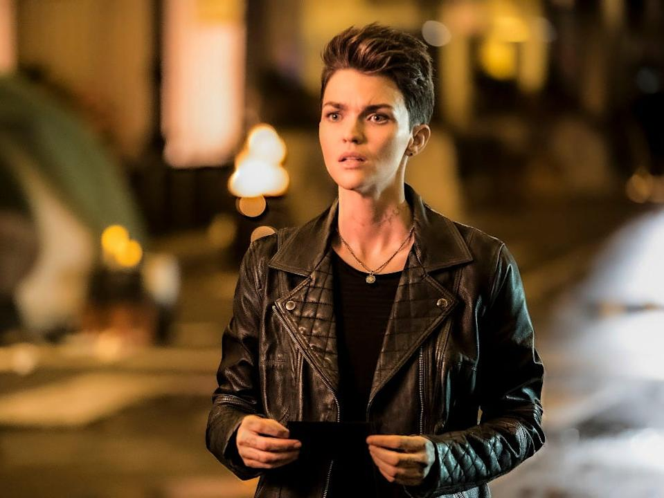"Ruby Rose played Kate Kane on ""Batwoman."""