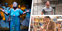 """<p><em>In The Heights </em>might just be the movie of 2021. After nearly a year-and-a-half of Covid-19 lockdown, it feels like a summer-set, modern-day musical—complete with those signature catchy Lin-Manuel Miranda songs, and dancing in the street—is the exact movie everyone needs right now. And with a <a href=""""https://www.rottentomatoes.com/m/in_the_heights_2021"""" rel=""""nofollow noopener"""" target=""""_blank"""" data-ylk=""""slk:97% rating from critics on"""" class=""""link rapid-noclick-resp"""">97% rating from critics on </a><em><a href=""""https://www.rottentomatoes.com/m/in_the_heights_2021"""" rel=""""nofollow noopener"""" target=""""_blank"""" data-ylk=""""slk:Rotten Tomatoes"""" class=""""link rapid-noclick-resp"""">Rotten Tomatoes</a>, </em>it's received near-universal acclaim. Director Jon M. Chu—who last dazzled audiences in 2018 with <em>Crazy Rich Asians</em>—has proven to be the perfect director to bring a beloved Tony-winning musical to the big screen, and update it to fit our 2021 sensibilities. But he's not working alone; the movie's cast, made up of stars of both stage and screen, is up to the task throughout the film. </p><p>The movie's lead feels like a natural pick, as Anthony Ramos played key supporting roles in the original cast of Miranda's megahit musical <em>Hamilton. </em>But aside from him, the cast also includes faces that TV fans, movie fans, and Broadway fans all might recognize, including one key cast member who actually originated the same role in the original Off-Broadway and Broadway productions of <em>In The Heights </em>way back in 2007 and 2008.  </p><p>Some of these names may be no brainers that you've heard of plenty of times before—and some may get there eventually. So, without further ado, let's take a closer look at all the performers in <em>In The Heights </em>who make the movie really work.  </p>"""